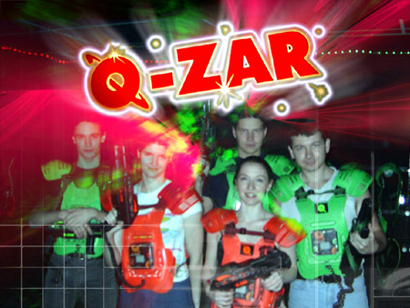 March 12th Q Zar Lasertag Activity 6pm Student Life