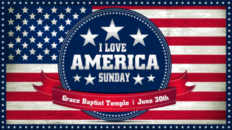 I Love America Sunday
